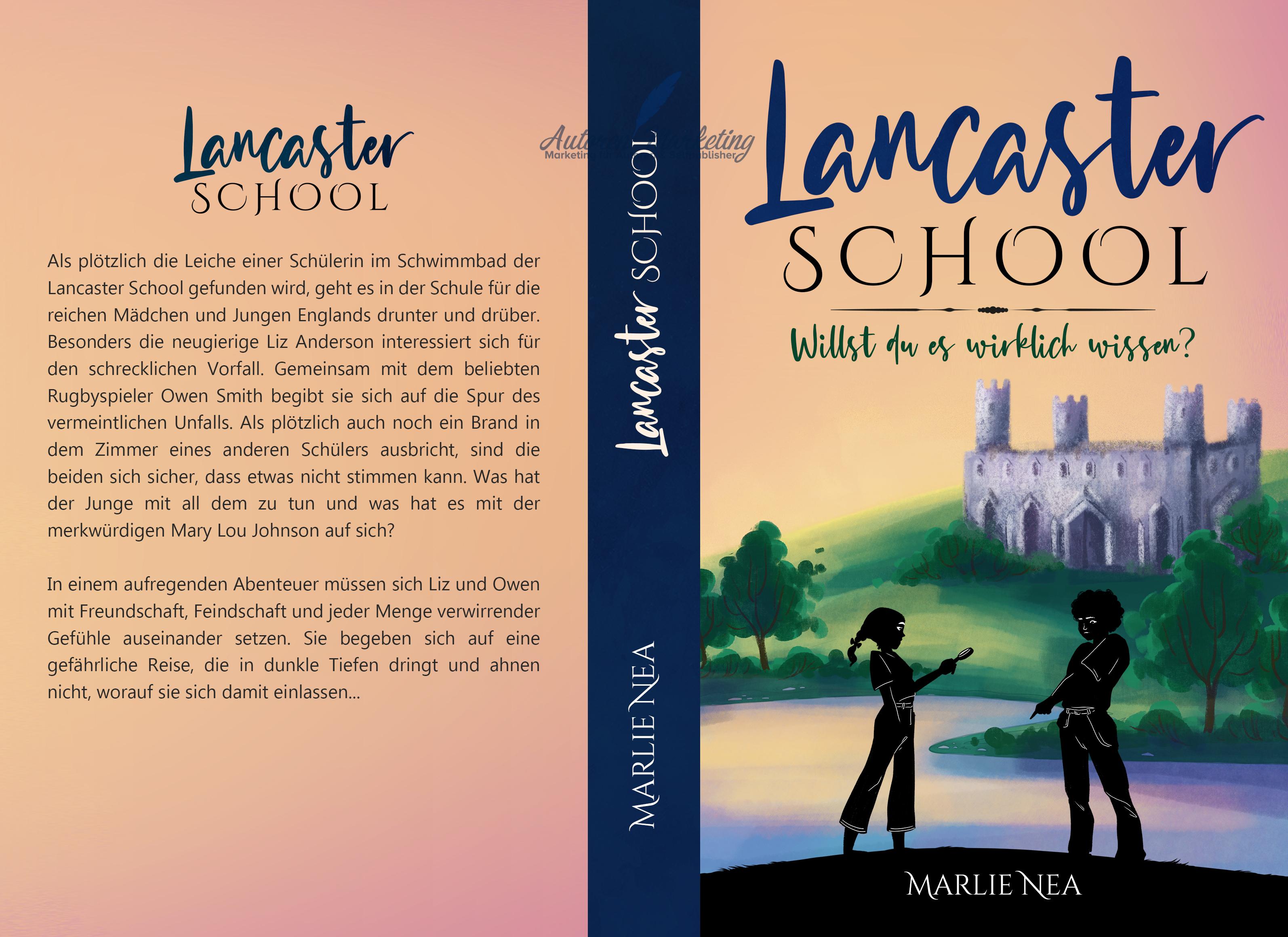 Taschenbuch Cover Lancaster School