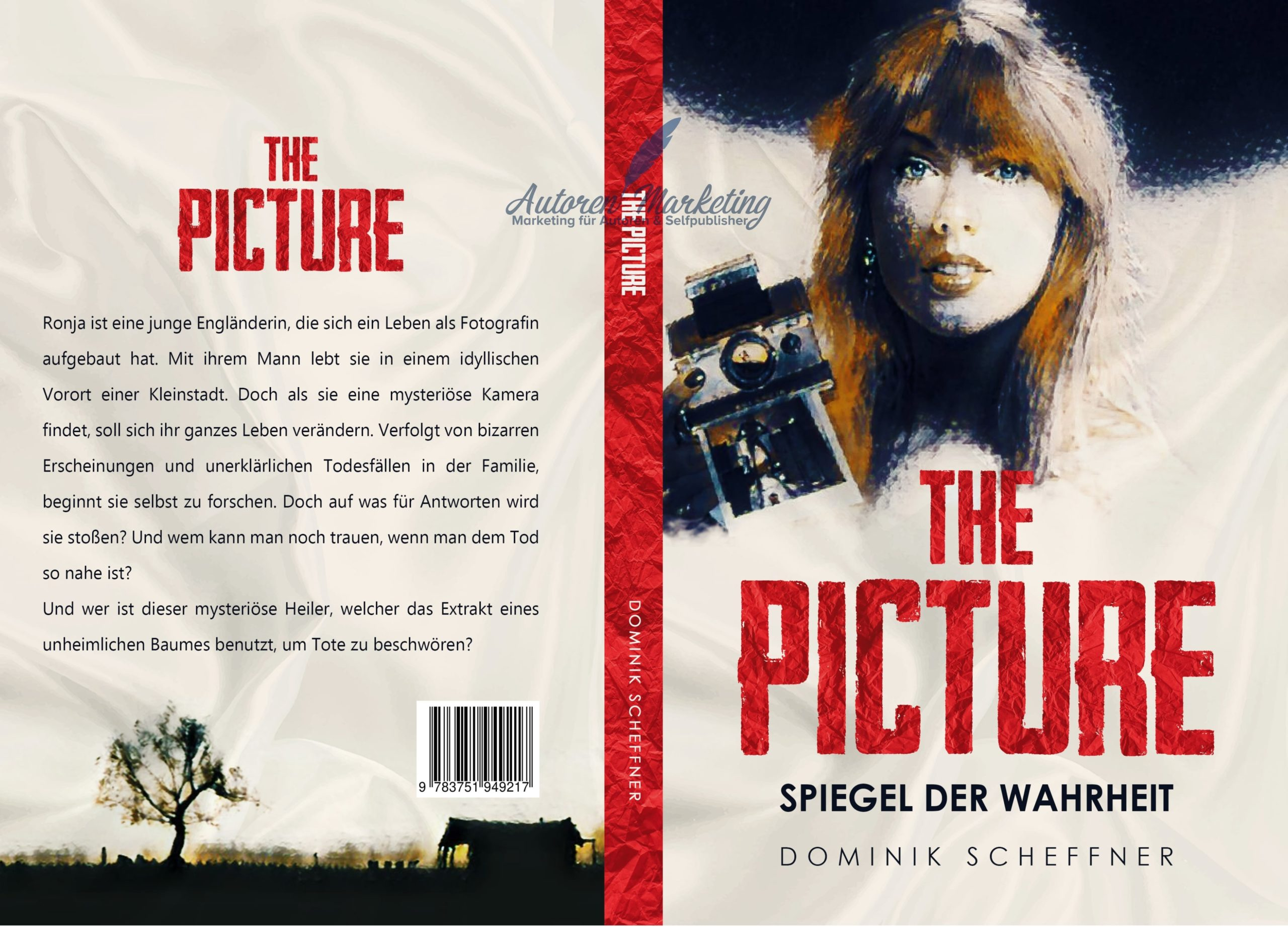 The Picture Taschenbuch Cover Design