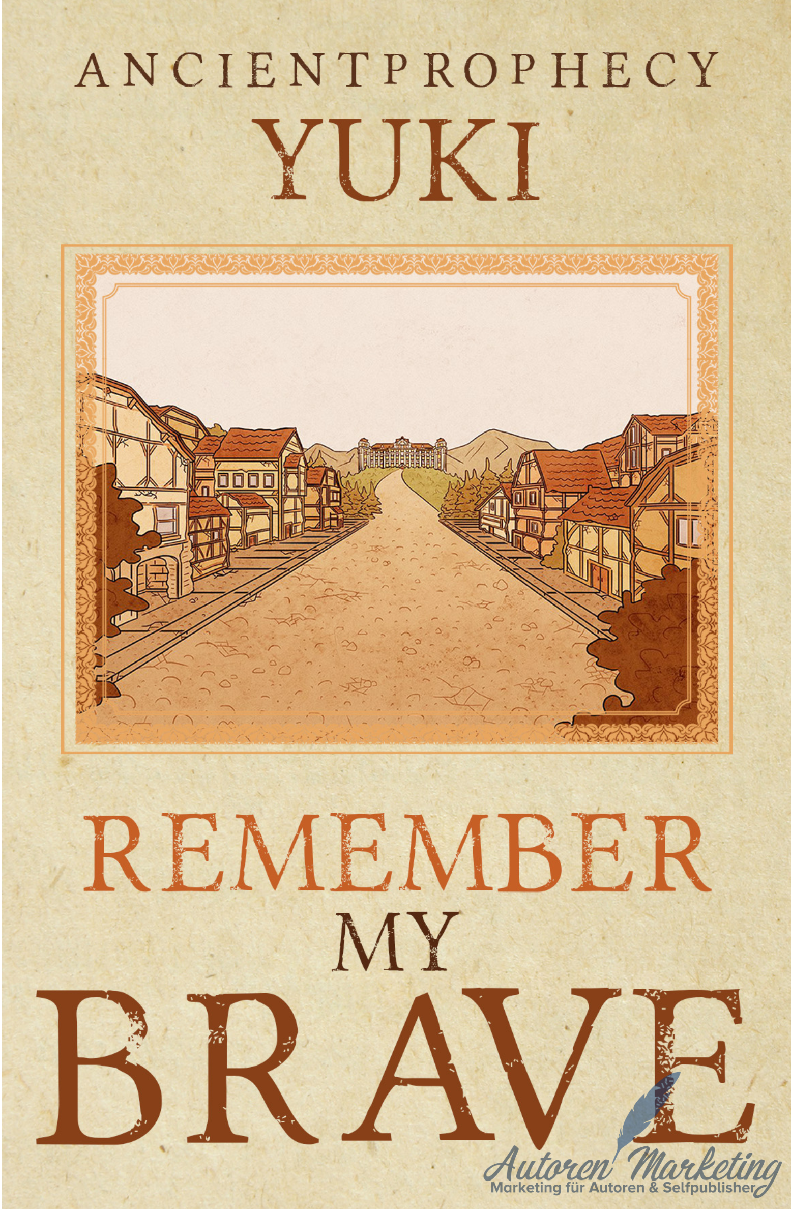 eBook Cover Design für Remember My Brave